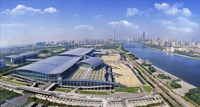 琶洲国际会展中心玻璃幕墙设计案例