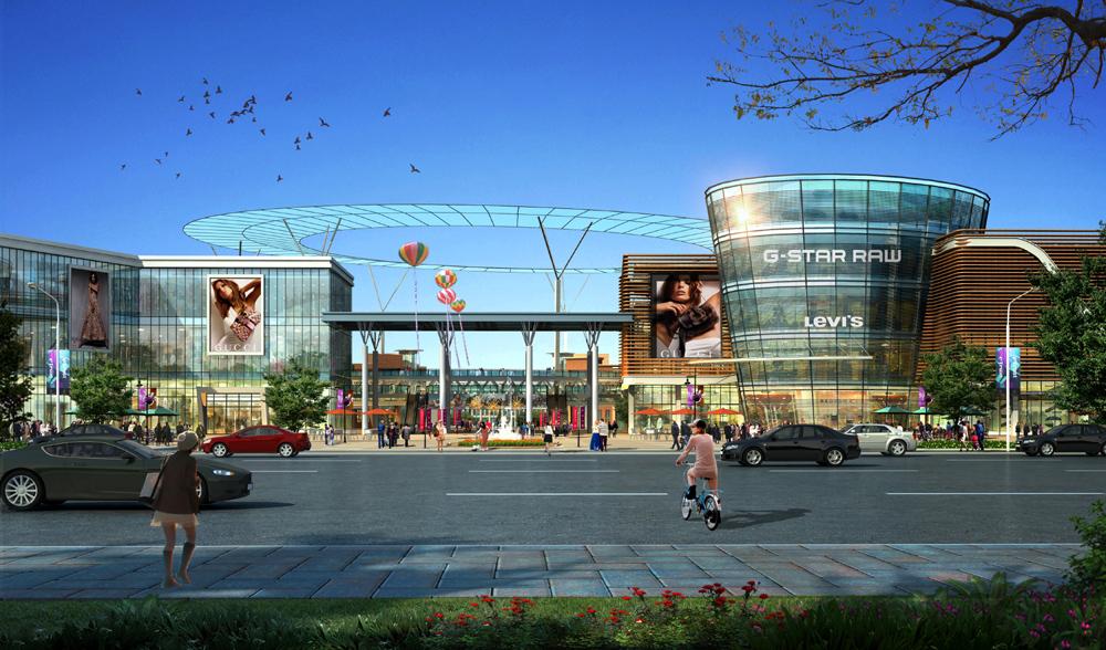河南世纪神话科技产业园玻璃幕墙设计案例