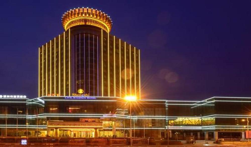 河南盛世民航国际酒店外幕墙工程设计案例