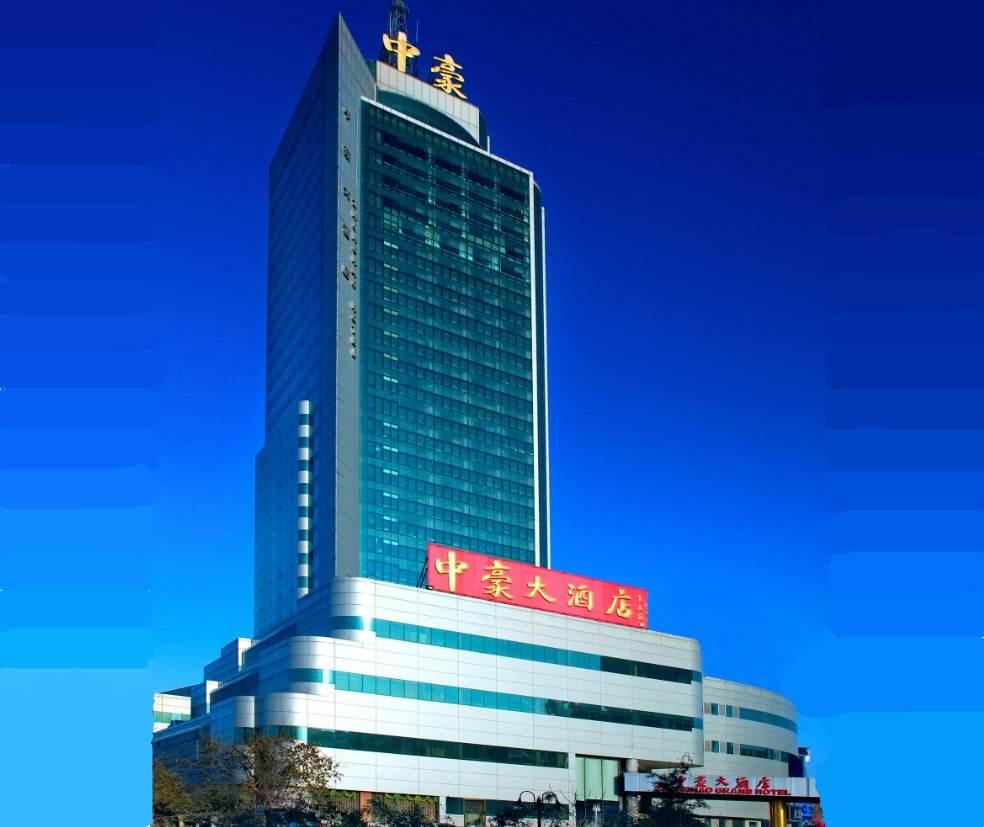 济南中豪大酒店外幕墙设计案例
