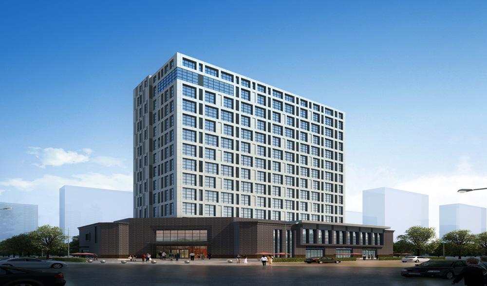 万正商务大厦玻璃幕墙设计案例