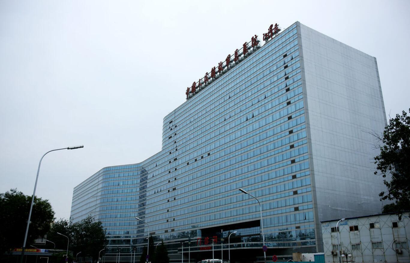 中国人民解放军总医院玻璃幕墙设计案例