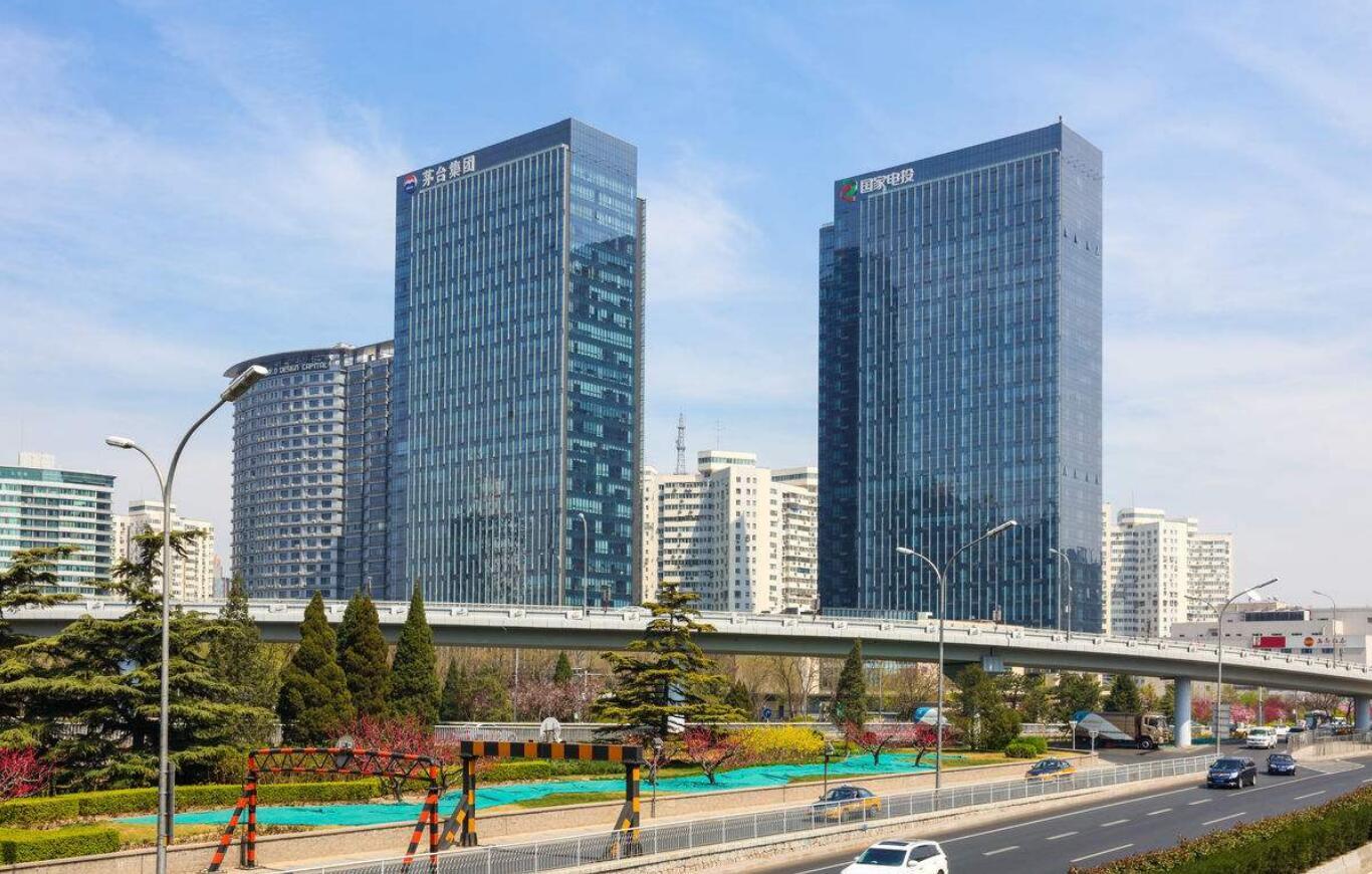 北京茅台大厦玻璃幕墙设计效果图案例