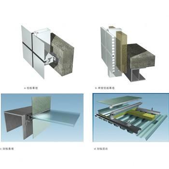 幕墙金属构件的加工制作要求