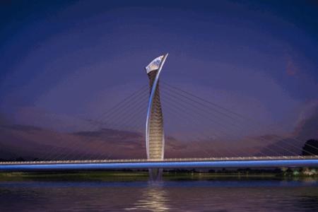 河南省禹州市颍川大桥铝单板幕墙工程设计案例