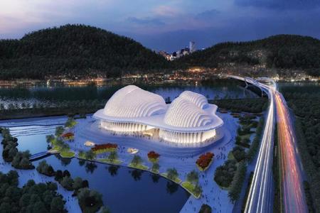 广西文化艺术中心异形金属幕墙设计案例