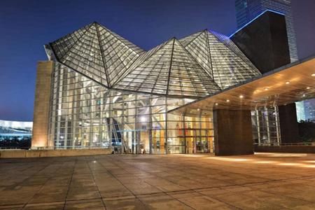 深圳图书馆玻璃幕墙、异形幕墙设计案例