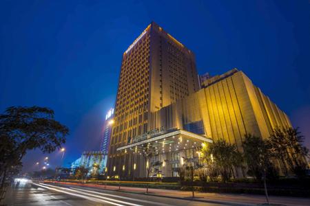 唐山万达洲际酒店石材幕墙设计案例
