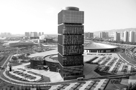 中国煤炭交易中心异形幕墙,玻璃幕墙设计案例