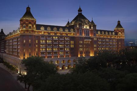 天津丽思卡尔顿酒店石材幕墙设计案例