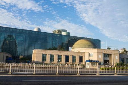 北京天文馆玻璃幕墙、石材幕墙设计效果图案例