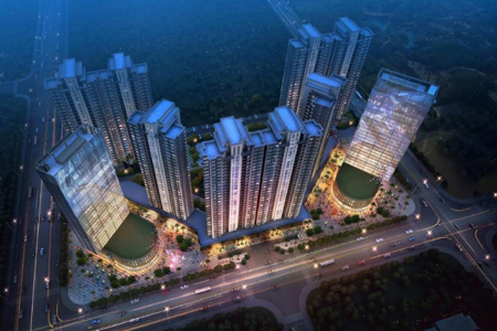 三祺广场大厦玻璃幕墙设计效果图案例