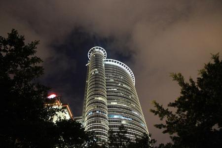 厦门国际银行大厦金属幕墙,玻璃幕墙设计效果图案例