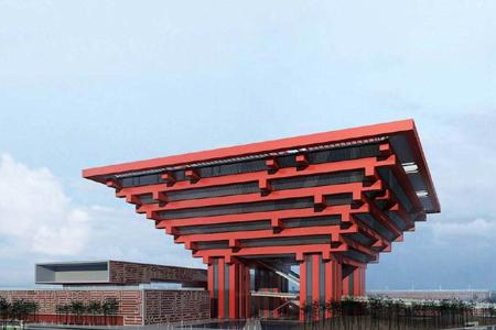 上海世博会馆幕墙工程综合说明及概况