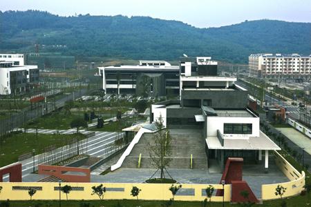 新北川中学石材幕墙设计效果图