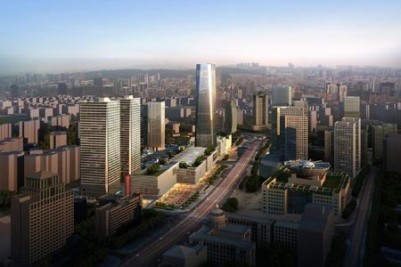 重庆中渝国际都会玻璃幕墙设计案例