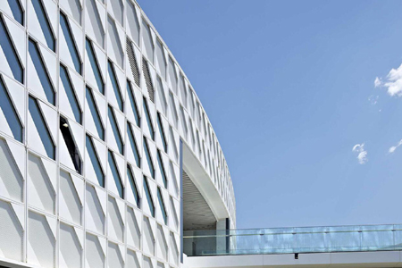 中国园林博览会金属幕墙设计效果图
