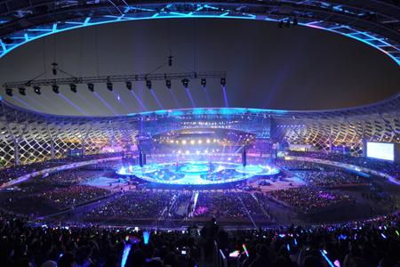 深圳湾体育中心玻璃幕墙,异形金属幕墙设计案例