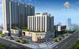 新签河南省华府领秀城外立面设计工程项目