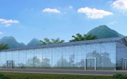 新签江西省从溪庄园进士村综艺大屋幕墙设计工程项目