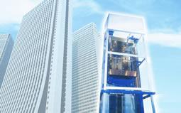 新签陕西帝奥电梯有限公司科研楼幕墙深化设计工程项目