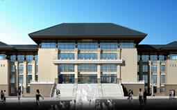 新签河南省长城书画城幕墙深化设计项目