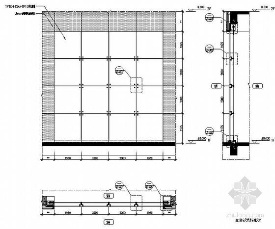 无框全玻璃幕墙施工流程方案