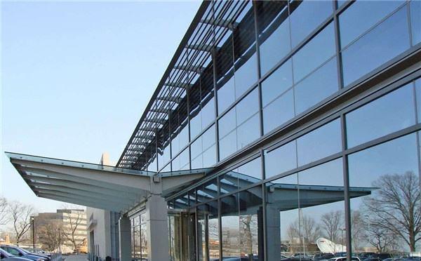 玻璃幕墙安装之半隐框玻璃幕墙安装方法