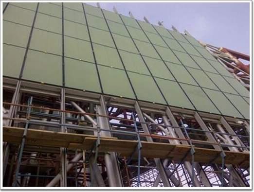 建筑单元式幕墙工程的安装过程