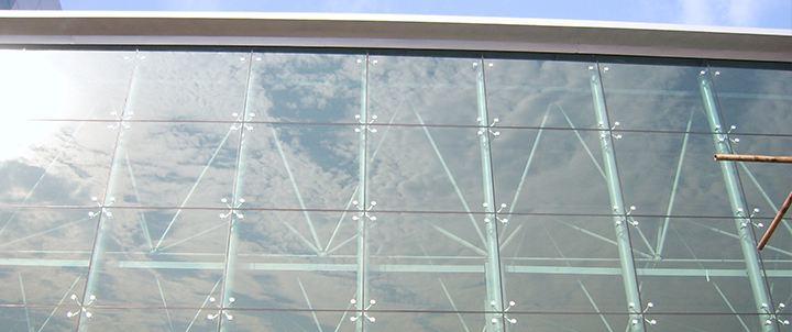建筑工程施工工艺之点支式玻璃幕墙(二)