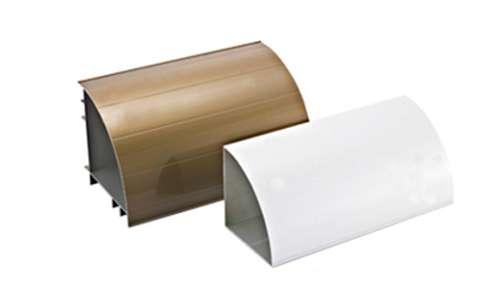 铝合金幕墙建筑型材之电泳涂漆型材