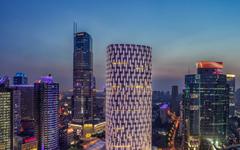 上海尚嘉中心异形铝板幕墙设计案例