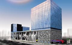 上海喜马拉雅中心玻璃幕墙设计施工案例