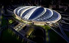 北京南站金属铝板幕墙设计施工案例