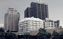 上海气泡大厦石材幕墙案例