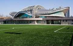 北京理工大学体育馆金属幕墙设计施工案例