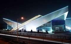北京石景山体育馆幕墙效果案例