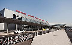 上海虹桥机场2号航站楼铝板幕墙建筑工程案例