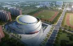 北京建筑大学大兴校区体育馆幕墙设计项目案例