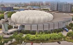 上海交通大学体育馆铝板幕墙设计案例
