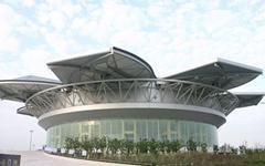 上海旗忠森林体育城网球中心钢结构幕墙设计案例钢结构幕墙设计案例