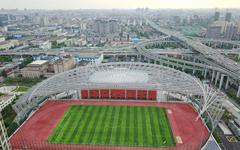 上海静安体育中心钢结构幕墙设计效果图