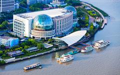 上海临港国际会议中心明框玻璃幕墙设计施工案例
