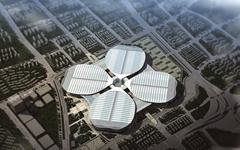 上海国家会展中心铝板幕墙设计施工案例