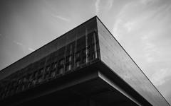 上海浦东展览馆隐框玻璃幕墙设计效果图