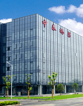 靖江中泰办公楼隐框玻璃幕墙设计效果图