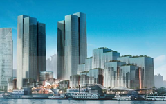 上海外滩国际金融服务中心隐框玻璃幕墙设计案例