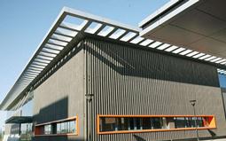 陶土板幕墙的支撑系统