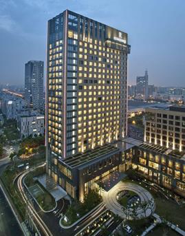 漕河泾酒店(万丽大酒店)石材幕墙设计效果图