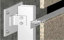 石材幕墙干挂施工工艺 石材饰板干挂法的原理及主要技术